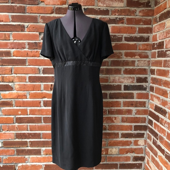Adrianna Papell Dresses & Skirts - Adriana Pappell Classic Black Dress 12